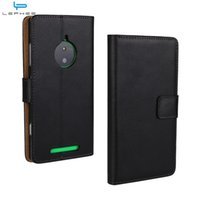 Wholesale Lumia 925 Case Leather - For Nokia Lumia 830 950XL 520 650 550 540 535 920 925 630 Flip Leather Case Wallet Credit Card Holder Stand Shockproof Cover