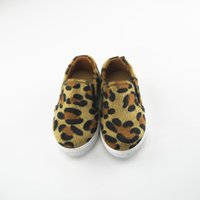Wholesale Leopard Print Baby Shoes - Koovan Children Sneakers 2017 Spring New Styles Shoes For Boy Girl Children Baby Leopard Print Shoes Soft Bottom Breathable Leo 1-3 Years