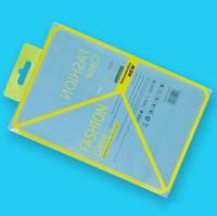 ipad deri perakende paketi toptan satış-Boş Sarı PVC Plastik Perakende Paketi 7.9 iPad mini için Ambalaj kutusu kutuları 1 2 3 4 PU Deri Kılıf