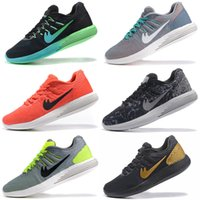 Wholesale Massage Flash - 2017 Cheap Men Running Shoes Lunarglide 8 Flash Sneakers High Quality LunarEpic Low Sports Shoes Outdoor Free Shipping Size 7-11