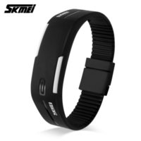 Wholesale Cheap Rubber Ladies Watches - Wholsale Cheap 2017 SKMEI Sports Silicone Band Watches Women Running Digital Watch Time Date Girls Ladies Wristwatches Relogio Feminino