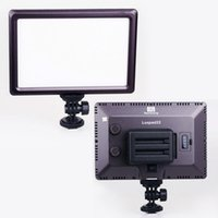 Wholesale Video Camera Chip - New Pro Ultra Thin Luxpad22 Ra95 LED Chips Video Light Bi-Color 3200K-5600K Led Lighting for Canon Nikon Sony DSLR Camera DV