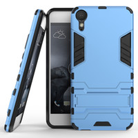 Wholesale Pro Bolts - 50pcs Hybrid Armor Phone Back Cover for HTC one M10 Desire 10 Pro Bolt X9 828 A9 M9 PC+TPU Protective Shell Anti-knock Case with Stand
