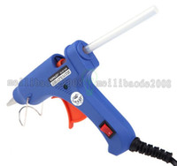 Wholesale Wholesale Glue Gun Sticks - XL-E20 Handy Professional High Temp Heater Hot Glue Gun with 50 Glue Sticks Graft Repair Heat Ggun Pneumatic Tools 20W FREE SHIPPING MYY