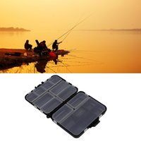 Atacado - Isqueiro de pesca impermeável Tackle Hook Bait Storage Case Case 16 Compartimentos Hot Sale