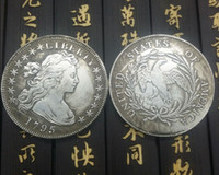 Wholesale Cheap Metal Shipping Boxes - Morgan 1795copy coins silver plated united states replica coins for only first 100 customers Promotion Cheap!! FREE SHIPPING