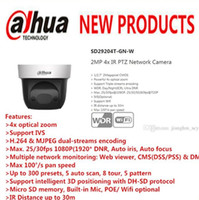 DAHUA Sicherheit IP Kamera cctv 4X 2MP Full HD Mini IR PTZ Dome Kamera mit POE Wifi Kamera ohne Logo SD29204T-GN-W