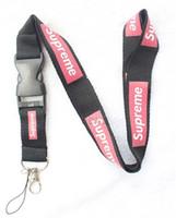 Wholesale Camera Straps Women - Hot lot !30pcs Black Red White Fashion Clothing Lanyard Detachable Keychain iPod Camera Strap Badge Cell