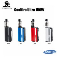 100% Original Coolfire Ultra TC150 Kits de arranque 4000mAh Liipo con tanque Scion de carga rápida Cool Fire 150W Vape Kit