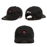 Wholesale Design Snapbacks - free shippinge Hundreds Rose Snapback Caps snapbacks Exclusive customized design Brands Cap men women Adjustable golf baseball hat casquette