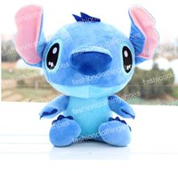 Wholesale Stitch Dolls For Sales - Free Shipping Hot Sale High Quality Cute Lilo & Stitch Plush Doll Toys 18cm Lovely Stitch Toys Plush Animals For Child Gifts Wholesale