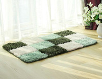 Wholesale Rectangle Tile - Modern Style Area Rugs Carpet Store Tiles Flooring Covering Pad Matting Decorative Beauty Doormat Softly Plush for Indoor Room Free Shipping