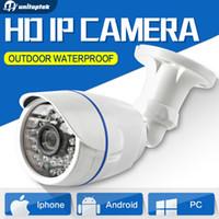 Wholesale Hd Waterproof Cctv Camera - 1.0MP   2MP Bullet 720P IP Camera 1080P Outdoor IR 20m HD Security Waterproof Night Vision P2P CCTV IP Cam ONVIF IR Cut XMEye