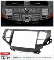 Wholesale Navigation Installation - CARAV 11-117 CAR Radio installation dash install fitting trim kit for HONDA Crosstour 2010-2012; Accord 2008-2012 (with Navigation) 2-DIN