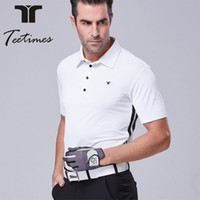 Wholesale Mens Summer Shirts Polyester - Mens golf polo shirt for spring summer quick dry golf t shirt man Original quality golf clothing short sleeves