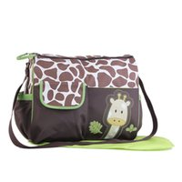 Wholesale Mother Bag Mummy - Animal Nappy Diaper Bag Mummy Bag Zebra or Giraffe Babyboom Multifunctional Fashion Handbag Infanticipate Shoulder Bag Mother Baby Bags