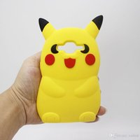 Cute Pocket Monsters 3D Cartoon Pikachu Case Мягкая силиконовая задняя крышка для Samsung Galaxy J1 Ace J5 A5 S3 S4 S5 mini Core 2 Grand Prime Duos
