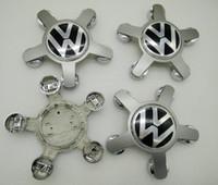 Wholesale Vw Centre Caps - 135mm wheel Center Hub Cap Centre Hubcap 5 Spoke For VW New For A4 L A6L 4F0601165N 4F0 601 165 N