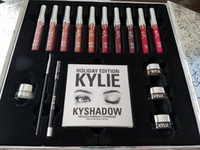 Regalo di Natale Kylie Cosmetics Holiday Collection Grande scatola PREORDER INTERNATIONAL Holiday Collection grande scatola di alta qualità migliore prezzo