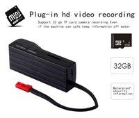Wholesale Tiny Hd Video Camera - 1920*1080P Full HD the mini super tiny video recoder Button camera mini dvr spy camera Camcorder PQ219
