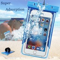 Wholesale Dive Seal Bags - Universal Cover Waterproof Diving Seal Swimming Underwater Bag Case Mobile Dry Cover Pouch For Note Samsung LG HTC