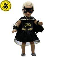 ingrosso bambola bambola uomo-American Girl Doll Clothes Superman e Spider-Man Cosplay Doll vestiti per bambole da 18 pollici Baby Doll Accessori D-3