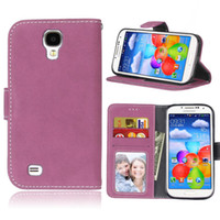 Wholesale Galaxys4 Cases - 3D Painting Flip Case for Samsung Galaxy S4 S 4 GalaxyS4 I9505 I9506 I9500 GT-I9500 GT-I9505 GT-I9506 Case Phone Leather Cover