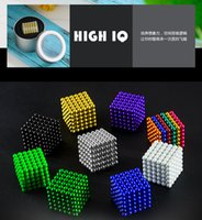 Wholesale Bucky Cubes - 3mm magnetic ball Magic ball buckyballs N35 cube neodymium Toy Cubes Puzzle ball Toy Sphere Magnet Magnetic Bucky Balls Hot