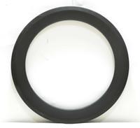 ingrosso ruote in carbonio pieghevole-Spedizione gratuita Carbon Wheel Single Rim 50mm Profondità 25mm Larghezza Carbon Rim Clincher 20Inch Folding Bike Rim 3k weave