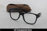 Wholesale Retro Square Clear Lens Glasses - 2014 New Brand Designer Fashion Men and Women Sunglasses UV400 Transparent lens Sport Vintage Sun glasses Retro Eyewear With glasses case