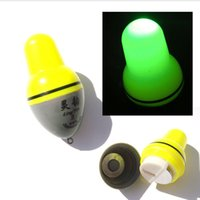Wholesale Fishing Floats Bobbers - Wholesale- New Floats Professional Fish Float Outdoor Sea Accessory Electronic Luminous Fishing Bobbers Tackle A0007