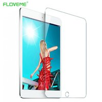 Wholesale Glass For Ipad - Wholesale- FLOVEME High Quality Clear Tempered Glass Screen Protector For iPad Mini 1 2 Retina Guard Protective Film For iPad Mini 1 2