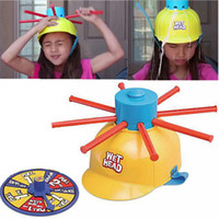 Wholesale Family Fun Party - New Parents Kids Wet Head Challenge Fun Water Roulette Family Party Prank Games Toys Funny Gadgets For kid gift