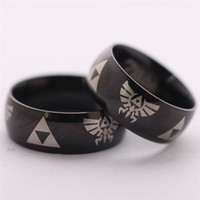Wholesale The Legend Of Zelda Ring Stainless Steel Fashion Ring Hot Sale