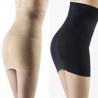 Wholesale Blue Dot Corset - Slimming Body Shapers Women control slips Seamless Corset Hip Waist Trainer Cincher Shapewear Skirt high waist shapewear underwear
