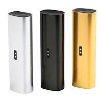 Wholesale Ecig Batteries Color - PA3 Premium Vaporizer Dry Herb Wax Tobacco Ploom E-cigarette Kits vape Pen ecig Kits With 3000mAh Battery Gold Silver Black color in stock