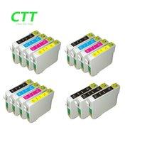 Wholesale Epson T1283 - CTT 15pcs T1281 T1282 T1283 T1284 Ink Cartridges Compatible for Epson Stylus S22 SX125 SX130 SX230 SX235W SX420W SX425W SX430 SX438 SX438W