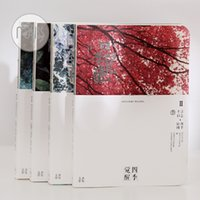 Wholesale Paper Products Stationery - Wholesale- 1 PC Korea stationery Soak up the color of the four seasons awakening notebook A5 products without the creative students