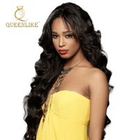 Wholesale Extension Sample Color - Queenlike Brazilian Hair body wave extension 100% human remy hair extensions free sample wholesale virgin hair extensions free shipping
