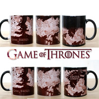Wholesale Color Changing Magic Coffee Mug - Drop shipping New Arrival Game Of Thrones mugs Winter is coming mug Magic color changing mugs cup Tea coffee mug cup