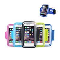Stampa il tuo logo Touch Screen Waterproof Universal Professional Slim Running Bracciale Cover Gym per Apple iPhone