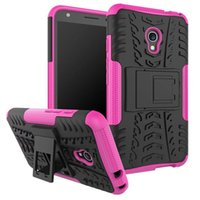 Wholesale Chinese Tires Brands - For Samsung Galaxy J7 J3 2017 Alcatel Pixi4 Pixi 4 5.0 inch Shockproof Tire Tyre TPU PC Hard Case Hybrid Dazzle Stand Armor Skin Cover 10pcs