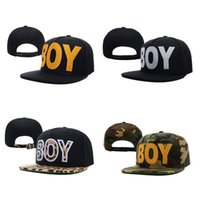 Wholesale Snap Backs Leopard - Hot Boy London Leopard Snapback Caps & Hats Snapbacks Snap Back Hat Men Women Baseball Cap Camo Cheap Sale