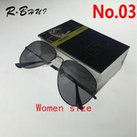 Wholesale Aviator Blue - 2018 New Vintage Aviator Sunglasses Pilot 58mm 62mm Men Women UV400 Band Polarized BEN Gafas Mirror Sun Glasses with case