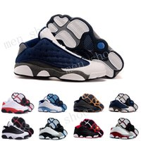 Wholesale Hologram For Sale - (With Box) Cheap Air Men's Basketball shoes Air Retro 13 bred flints grey toe He Got Game hologram barons sport sneaker For hot online sale