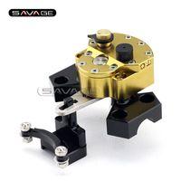 Wholesale steering stabilizer resale online - For KAWASAKI Z800 Motorcycle Accessories Steering Damper Stabilizer with Mounting Bracket Kit