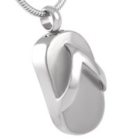Wholesale Wholesale Ash Holders - IJD8401 Memorial Ash Holder Pendant Urn Necklace Cremation Keepsake Jewelry In 316L Stainless Steel With Free Shipping