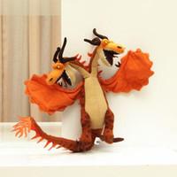 Wholesale Dragon Train Plush Toys - How to Train Your Dragon Plush Toy Hideous Zippleback Monstrous Nightmare Doll Free Shipping Retail