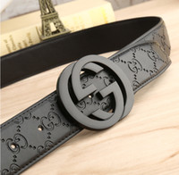 Wholesale Designers Men Belts - 2017 brand belt high quality belts for men fashion designer belt luxury cow genuine leather belt Gold silver black buckle waistband