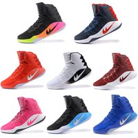 Wholesale Table Tennis Balls Quality - Hyperdunk 2016 Olympic Mens Basketball Shoes Men Air Zoom Hyperdunks Sneakers Red Black High Quality Basket ball Shoe Sneaker Size 7-12